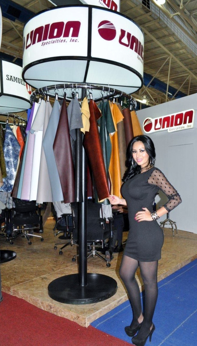 Union Specialties Inc. Booth at the ANPIC show in León